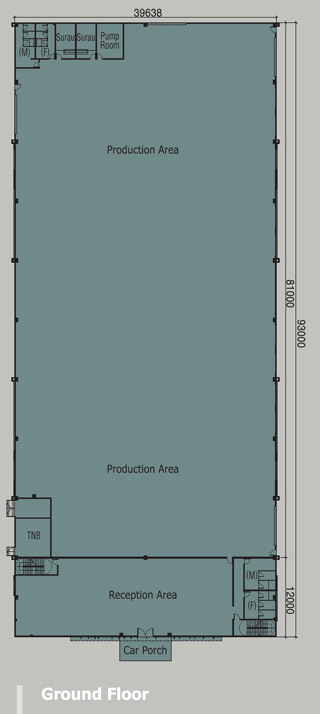 1.76 Acre Detached Factory Ground floorplan