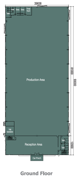 1 Acre Detached Factory Ground floorplan
